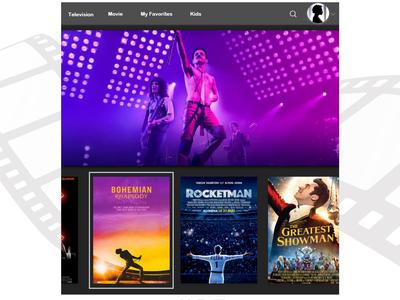 Daily UI - TV App 025