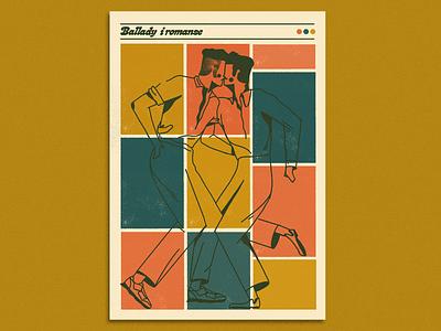 Ballady i romanse x barStudio outdoor handlettering lettering doodles typography vintage branding print illustration design