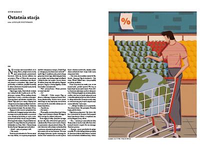 Pismo_editorial illustration editorial graphics doodles vector design print illustration