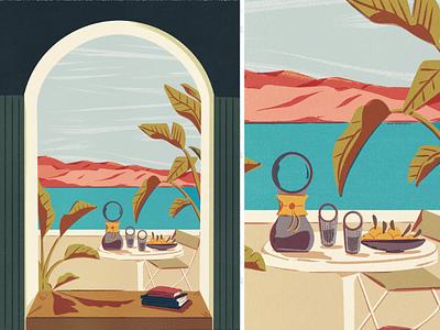 Clementines travel ui typography doodles lettering branding vintage print design illustration