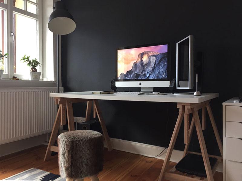WRKSPC design webdesign workspace work home office desk black white matthiasgoegel graphic development