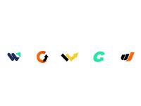 SEO Agency   Branding Emblem arrow seo illustration flat monogram mark logo icon branding brand