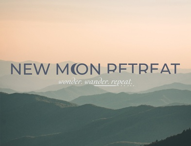 New Moon Retreat Poster