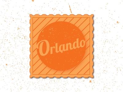 Weekly Warm-Up: Sticker for Orlando, Florida