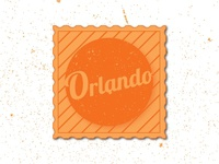 Weekly Warm-Up: Sticker for Orlando, Florida