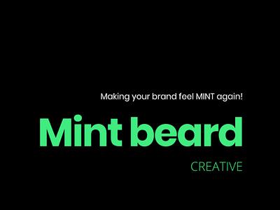 Mint Beard Creative branding web design website creative branding