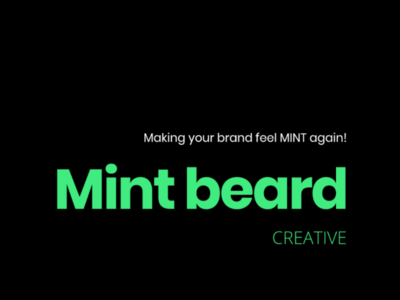 Mint Beard Creative branding