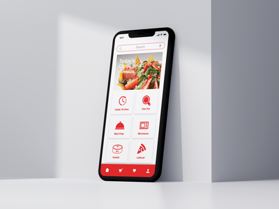 Quick Cook Mobile App ui design ux design cooking app food app millennials product design ui ux