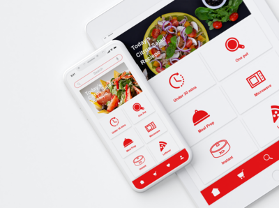 QUICK COOK - Prototype Mobile App for Millennial Moms