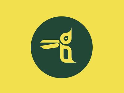 SCISSORSPECKER bird illustration vector typography art design logo