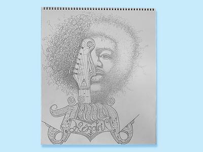 Jimi Hendrix / Sketch