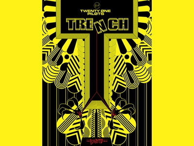 Twenty One Pilots / Poster twenty one pilots band vulture bird concert trench music poster twentyonepilots