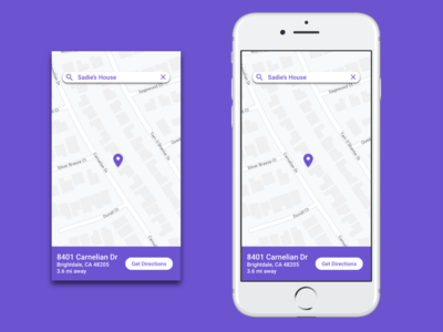Daily UI Challenge #20 - Location Tracker