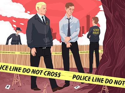 True Detective illustration true detective