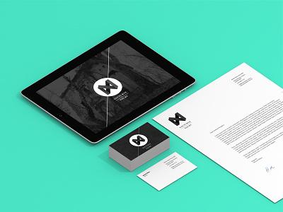 Nocturne Identity branding identity design letterhead website business card