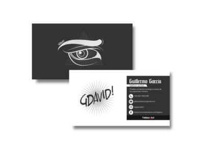"""""""Guillermo García Business Card"""""""