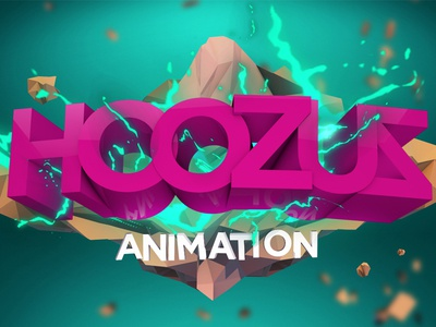Agency Animation Promo type typography c4d cinema4d aftereffects logo lowpoly