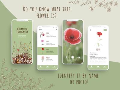 Botanica Incognita App iOS
