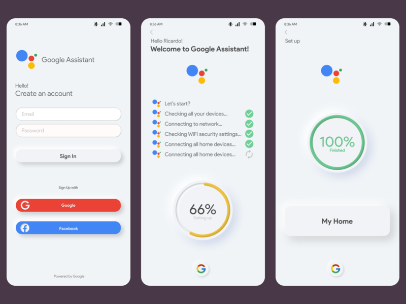 Google App Assistant Concept Project