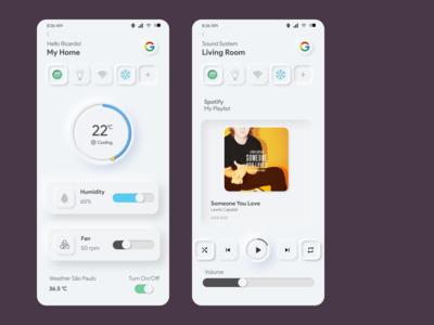 Google app Assistant concept
