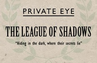 League Of Shadows - Detective Agency Business Card