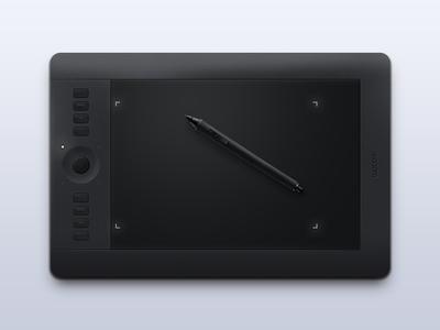 Intuos Pro intuos wacom tablet pen