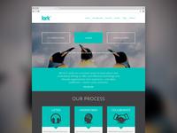 Homepage Mockup