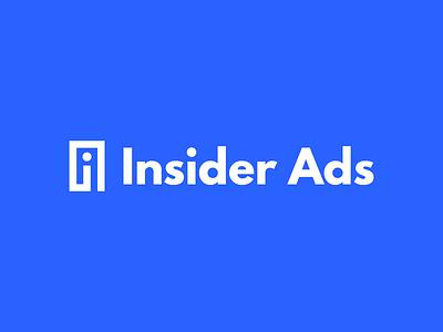Insider Ads ads insider ads mark identity brand logo