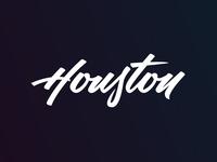 Houston Lettering