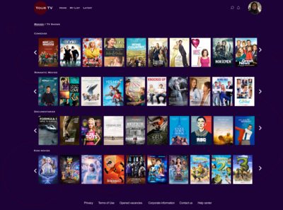 #Daily #UI #25  TV App