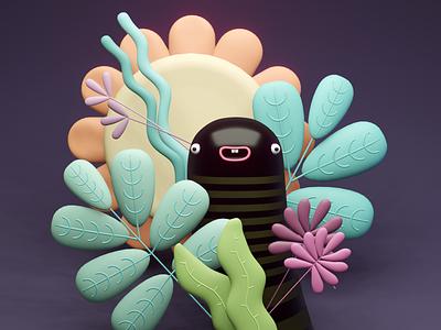 Hello :) app web concept art illustration composing artist art direction animation 3d artist 3d art