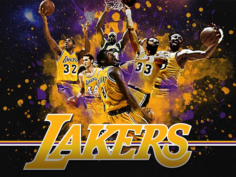 Lakers - Legends la lakers nba fan art