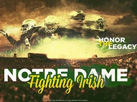Notre dame 2014 Poster