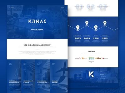Krnac Group | Landing Page