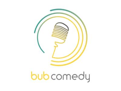 bub comedy logo design