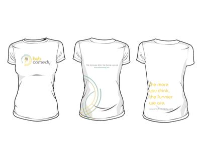 bub comedy t-shirt designs
