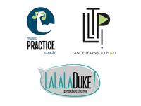 3 Cohesive logo designs