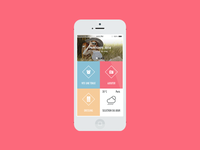 Clothe to me app Home page