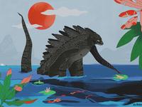 Godzilla in Annecy