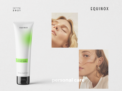 EQUINOX cosmetic packaging design cream logo brand identity packaging design logodesign cosmetic cosmetic packaging branding brand design