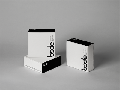 Bode | home perfumery box design typography package design luxury brand identity brand design branding logo design packaging design package black white minimal box design box perfume