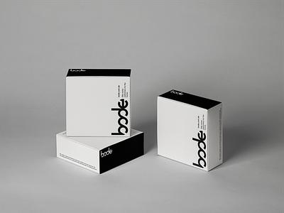 Bode | home perfumery box design typography package design luxury brand identity brand design branding logo design packaging design package black white minimal box design box perfume