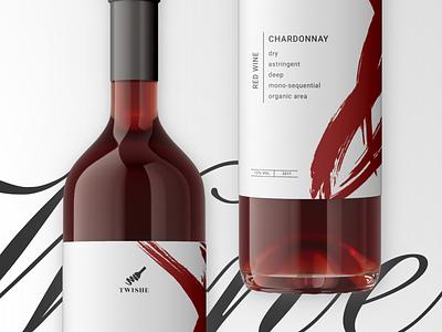 Wine bottle label design typography bottle winery wine branding packaging package design bottle label wine bottle wine design wine wine label