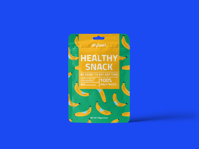 Dryfood | Package design packagedesign boxdesign typography healthy food dry fruits pouchdesign pouch snack dryfood food vegan food logo brand identity packaging design