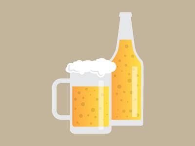 Tarro y cerveza