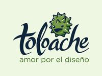 Toloache: amor por el diseño (logotipo)
