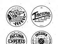 Black and white sticker collection
