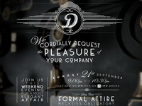 Downton Abbey - New Season Invite