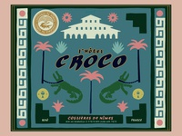 L'hotel Croco Wine Label 1
