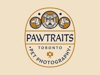 Pawtraits Logo Concept